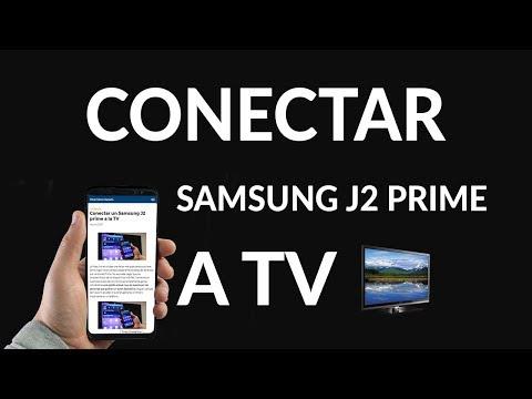 Conectar un Samsung J2 Prime a la TV