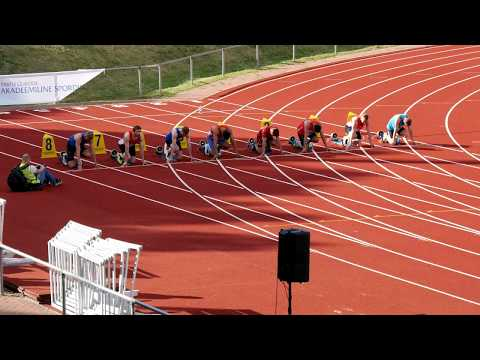 100m and 200m G. Sule memorial 2017