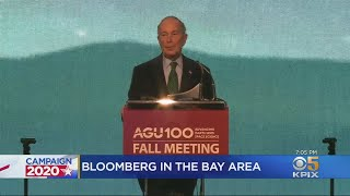 Michael Bloomberg Talks Climate Change With Former Gov. Brown In San Francisco