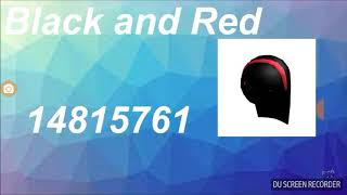 Roblox Highschool Codes For Girls Hair Ponytail