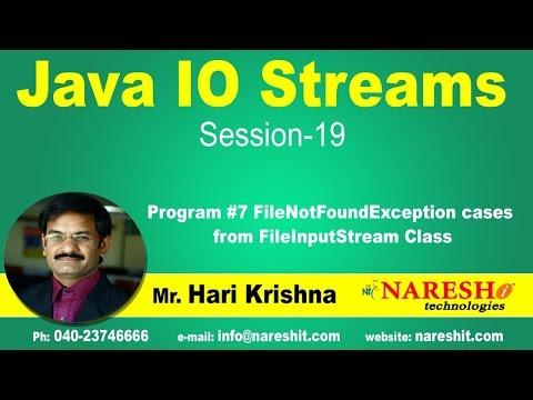 io-streams- -session-19- -program-#7-filenotfoundexception-cases-from-fileinputstream-class