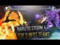 NARUTO STORM 4 TOP 3 BEST TEAMS TO USE BEST TEAMS TO USE IN RANK MATCHES mp3