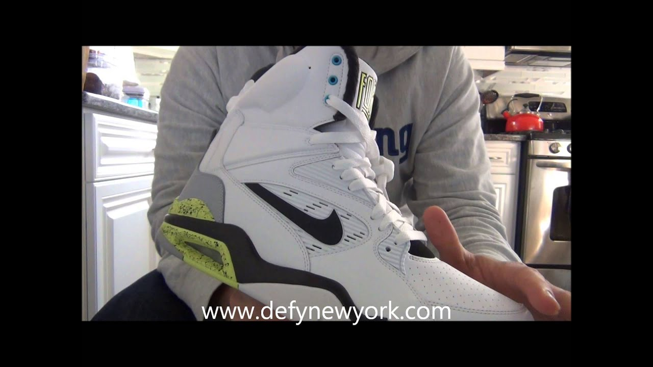 c71bd85da06 Live! Nike Air Command Force Pump Retro On Feet Review 2014 - YouTube