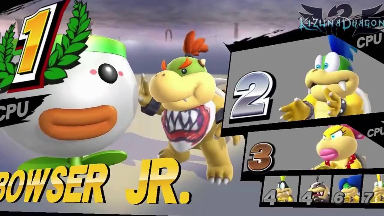 Koopaling Battle Royale Super Smash Bros Wii U