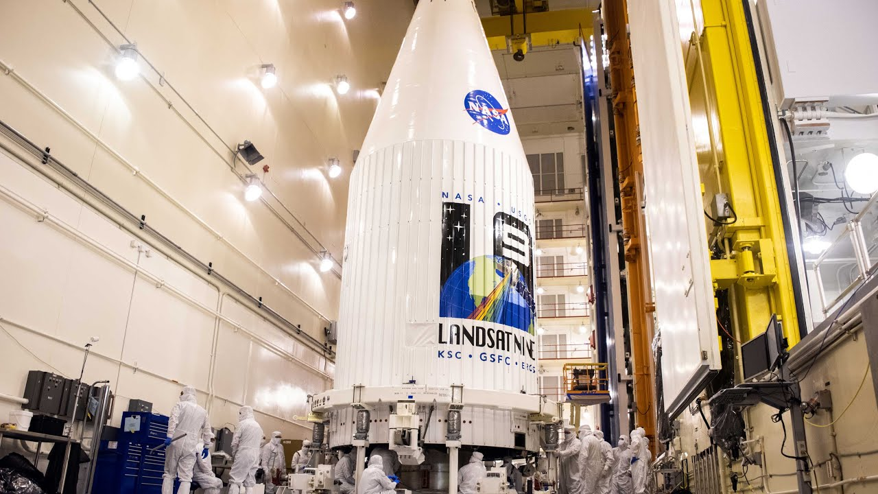 Download Launch of the Landsat 9 Earth-Observing Satellite