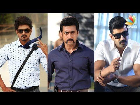 Big Clash This Pongal 2017   Bairava, S3, Kuttram 23, Bruce lee   Tamil Movies Release Date