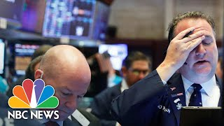 Dow Closes At 1,300 Point Loss Despite White House Trillion-Dollar Stimulus Plan | NBC News NOW