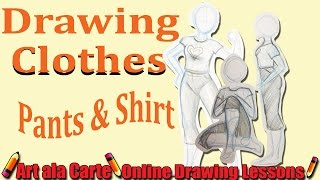 How to draw clothes Part 1