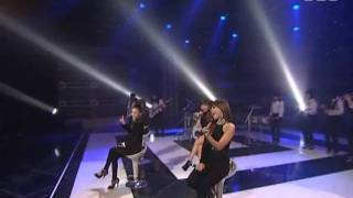 2NE1 - I don't care Unplugged ver @ SBS Inkigayo ???? 090830