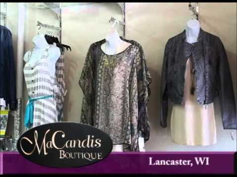 Lancaster Wisconsin's MaCandis Boutique on Our Story's The Celebrities