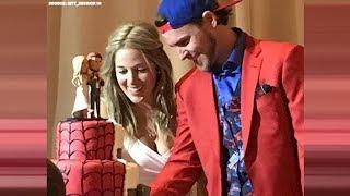 Astros Josh Reddick has Spider-Man/Ric Flair themed wedding