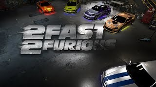 2Fast2Furious Cars / (SHOWCASE,CINEMATIC)/  in Need For Speed Payback - 1080pHD