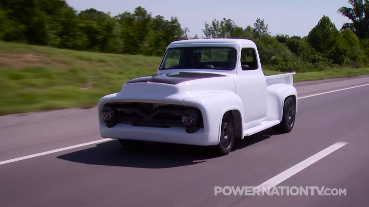 Lot F120 1 1955 Ford F100 Resto Mod Pickup Featured On