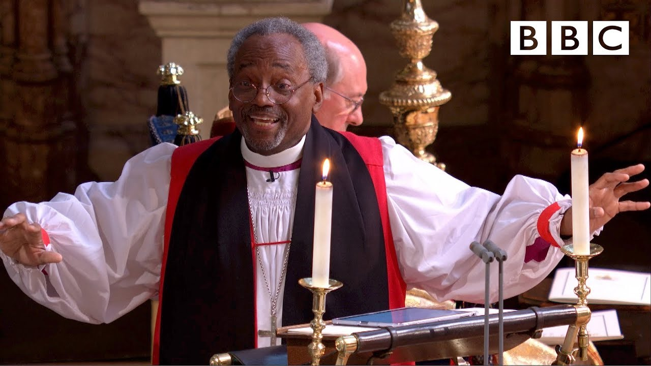 Black Preacher At Royal Wedding.Love Is The Way Bishop Michael Curry S Captivating Sermon The Royal Wedding Bbc