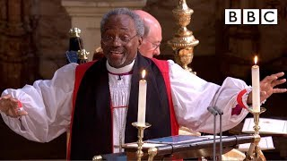 Love is the way | Bishop Michael Curry's captivating sermon  - The Royal Wedding - BBC Video