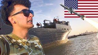 Grabe los barcos de la MARINA de TRUMP!! (HotSpanish Vlogs)
