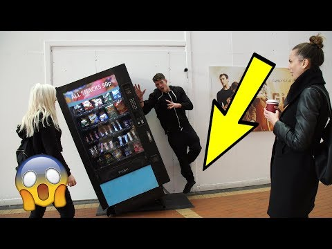 IMPOSSIBLE SUPERPOWERS PRANKon PUBLIC!!! *DEFYING GRAVITY* Ft My Sister
