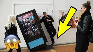 IMPOSSIBLE SUPERPOWERS PRANK  on PUBLIC!!! *DEFYING GRAVITY* Ft My Sister