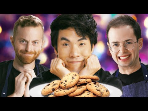 The Try Guys Bake Cookies Without A Recipe