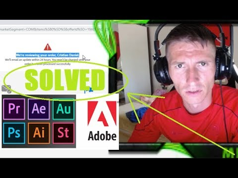 [FIXED] Credit Card Payment Failed While Buying Adobe Premiere Pro CC
