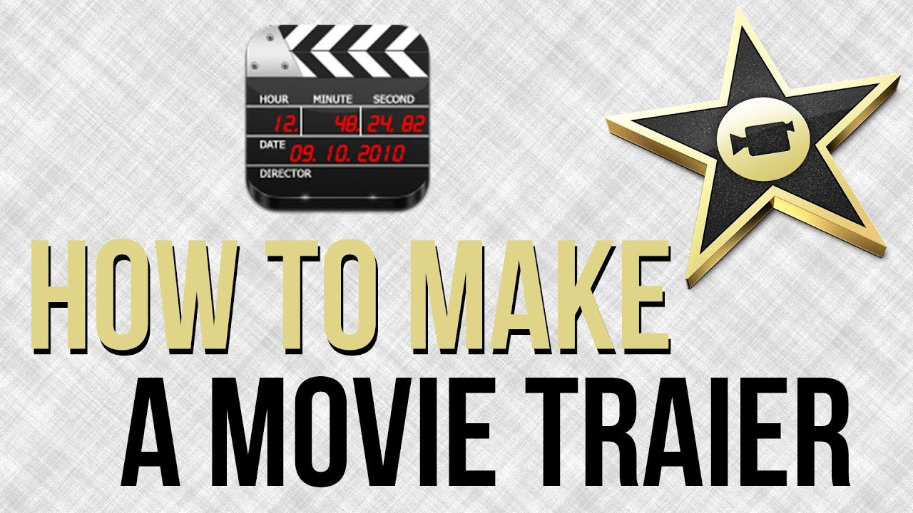 How to make an awesome movie trailer in imovie imovie for Trailer templates for imovie