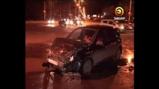 Авто жениха и невесты попало в аварию
