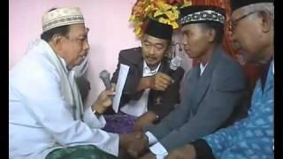 (Video Kocak) Ijab Qobul Pernikahan Pali...