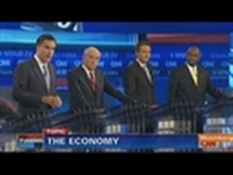 Republicans Hammer Obama on Economy, Seek Edge in Debate