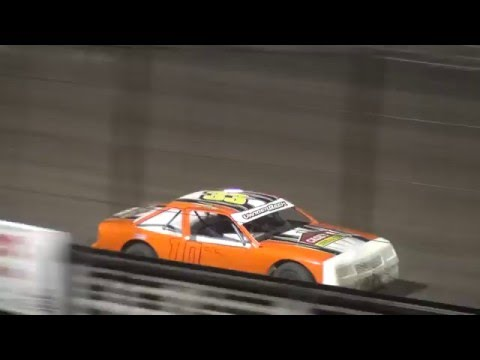 IMCA Stock Car feature Southern Iowa Speedway 4/13/16