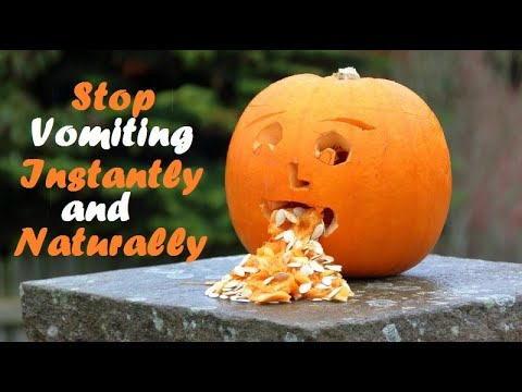Stop Vomitings Instantly and Naturally - Emesis