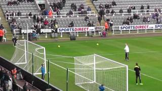 Tim Krul November Player Of The Month Training Before Southampton Game
