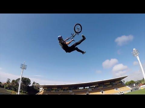 Todd Meyn: World's First BMX Frontflip Whip Catch Whip