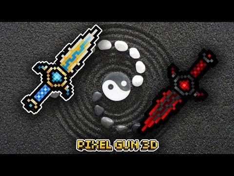 El YIN YANG en PIXEL GUN 3D *Arma con todos los efectos* (Quema, Congela, Envenena y MAS!)