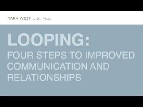 Looping: Four Steps To Improved Communication And Relationships