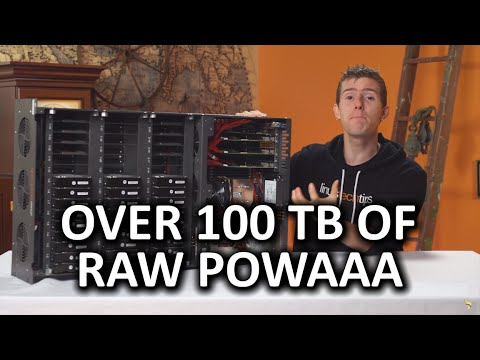 """100TB at over 1GB/s - The """"Storinator"""" is back!"""
