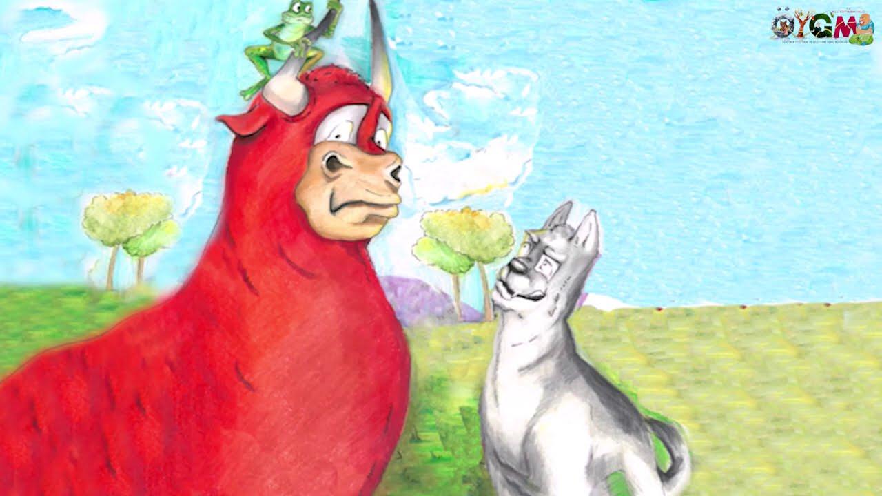 The Wolf and The Three Oxen (Kurt ile üç Öküz)
