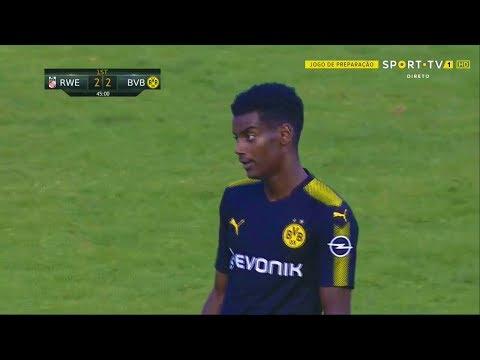 Alexander Isak (Scores 4 Goals) vs Rot-Weiß Erfurt (Away) 06/08/2017 | HD