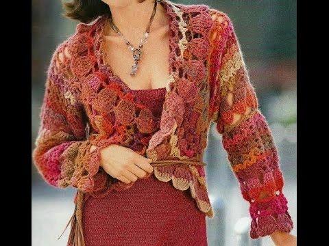 Crochet Patterns For Free Crochet Shrug Crochet Cardigan 7