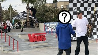 VANS HUNTINGTON BEACH BMX STREET INVITATIONAL!