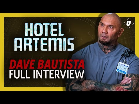 Dave Bautista Is Ready To Star In A Movie With The Rock!  Hotel Artemis