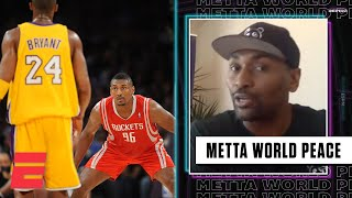 Metta World Peace on playing with (and guarding) Kobe Bryant | Highlights with Omar Raja