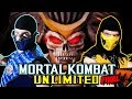 Scorpion and Sub-Zero Finish Mortal Kombat Unlimited! | MKX PARODY!