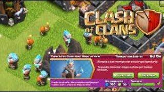 Mago de hielo en Clash of Clans?!🤔 Clash of Clans Español con bykingtraGames