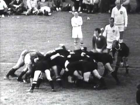 1971 Rugby Union Test Match: New Zealand All Blacks vs British and Irish Lions (4th Test)