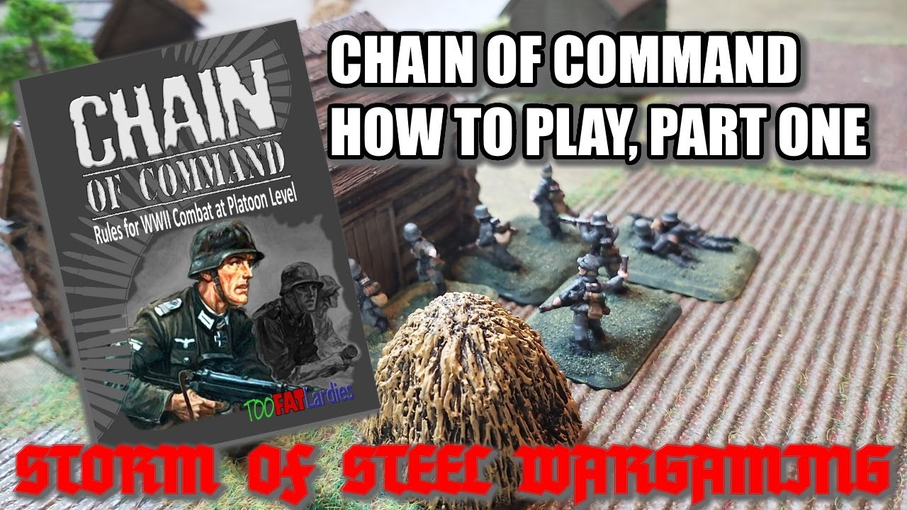 Download Chain of Command: How to Play, Part 1 | Storm of Steel Wargaming