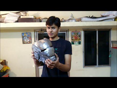 "Iron man Suit Mark VI ( Mark - 6 ) part-10 "" Helmet "" (Metal)"