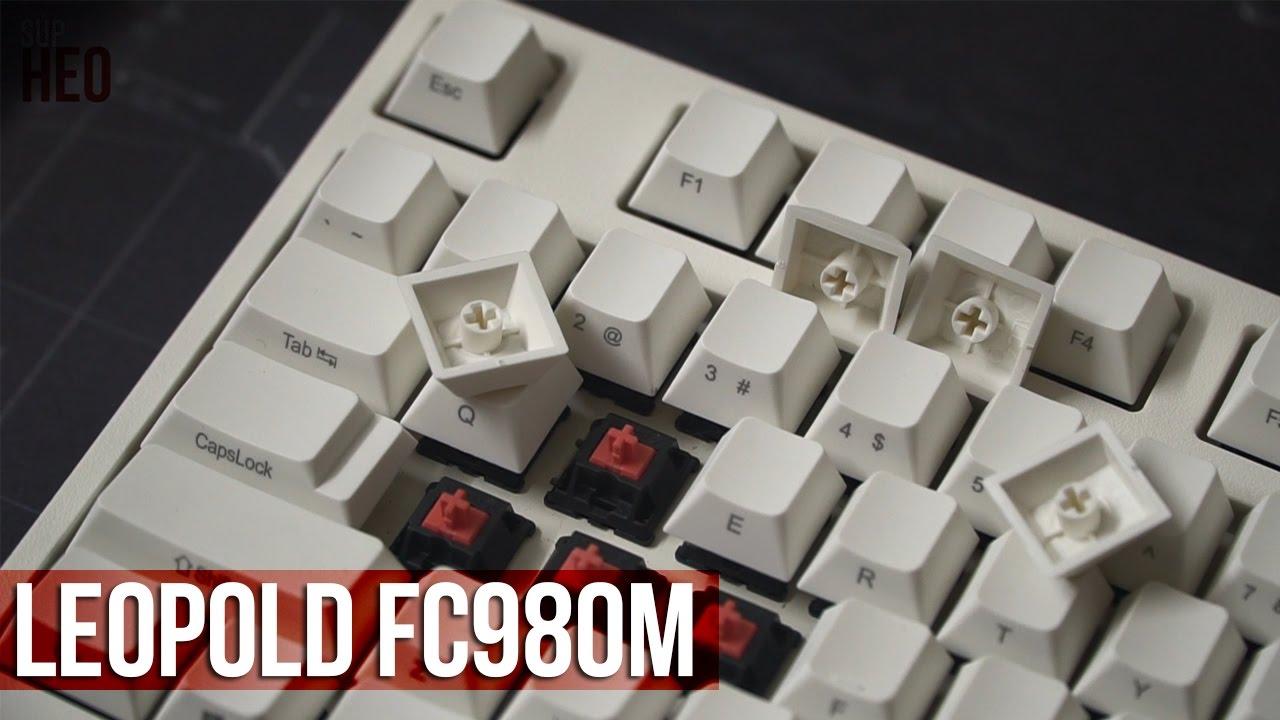 Trên tay Leopold FC980M – Bàn phím cơ Cherry MX Silent và keycap thick PBT