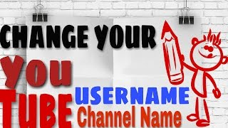 [Updated]How to change Youtube Channel name/Username [in 2 minutes]