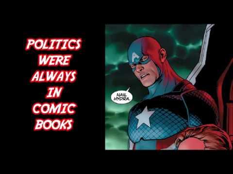 Politics Have Always been In Comic Books - Comic Geek News