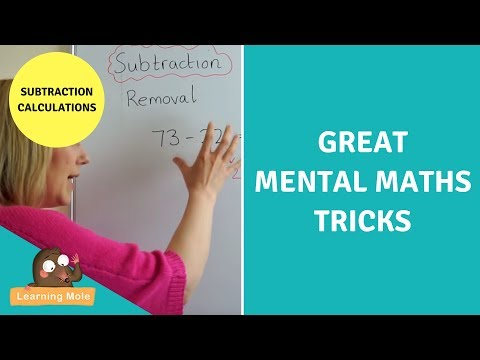 Mental Maths for Kids - Subtraction Calculations – Learningmole
